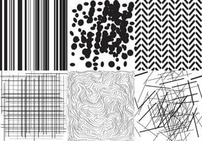 Textures en noir et blanc
