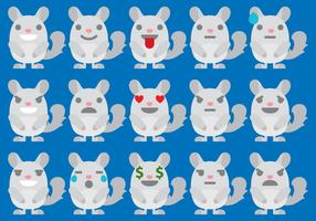 Chinchilla Emoticons