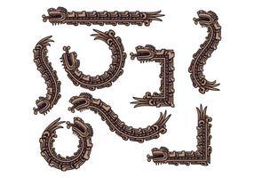 Vector de Quetzalcoatl