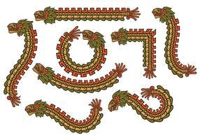 vettore di quetzalcoatl
