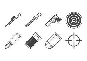 Gratis Fire Arms Icon Vector