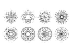 Free Rangoli Pattern Vector