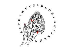 Placa Ouija grátis vetor