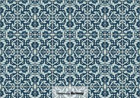 Vector Achtergrond Van Portugese Tegels Azulejos,