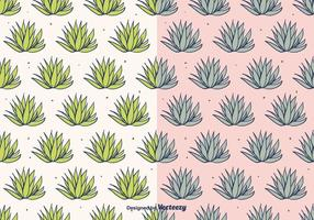Maguey Vector Pattern
