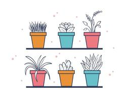Gratis Hus Växter Vector