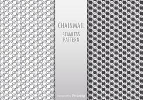 Gratis Chainmail Seamless Pattern Vector