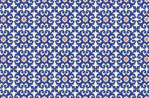 Gratis Azulejo Vector sömlös mönster