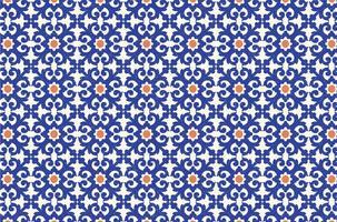 Kostenlose Azulejo Vektor Nahtlose Muster
