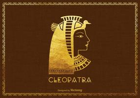 Gratis Vector Cleopatra Silhouette Illustration