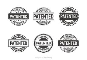 Patented Vector Rubber Stamps