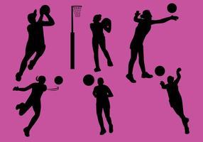 Vecteur netball gratuit