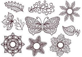 Free Coloring Elements Vectors