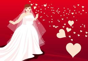 Married Women Vector Illustration
