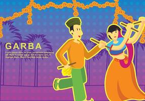 Illustration Garba gratuite