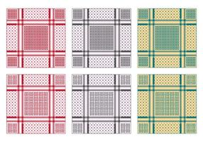 Background Of Keffiyeh Pattern