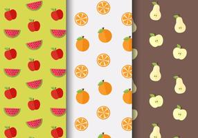 Gratis Fruit Patroon Vector