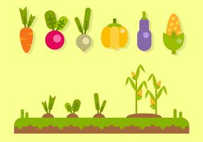 Verdure gratis vettoriale