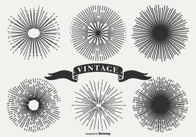 Vintage Zonnestraalvormen