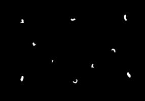 vettore di sagome di condor