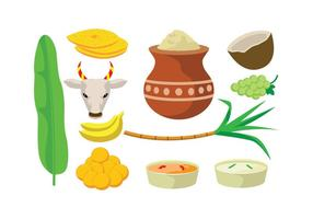 Free Pongal Vector