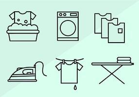 Vector de lavanderia grátis