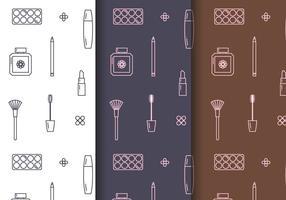 Vector de motifs de cosmétiques gratuits