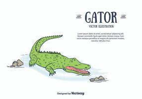 Gator vektor