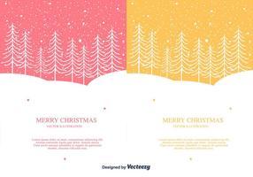 Fondo del vector de la Feliz Navidad