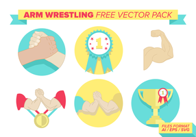 Arm brottning Gratis Vector Pack