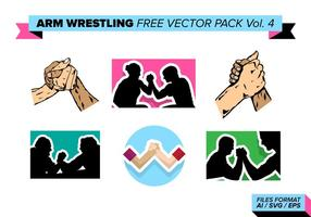 Arm Wrestling Gratis Vector Pack Vol. 4