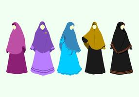 Abaya Free Vector