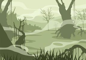Swamp Free Vector