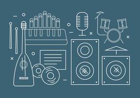 Kostenlose Vektor Musikinstrumente