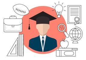 Icônes de graduation gratuites