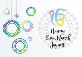Guru Celebration Background vector