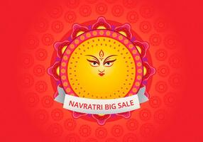 Navratri Big Verkauf Illustration