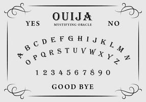 Ouija Board vector