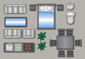 Golvplan Vector