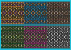 Colorful Songket Patterns