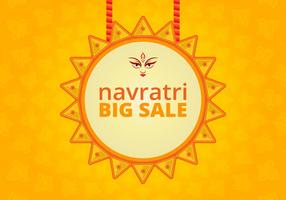 Navratri Big Sale Illustration