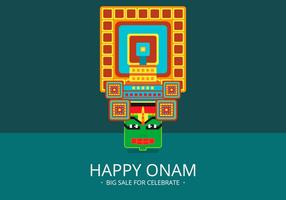 Onam Big Sale Illustration