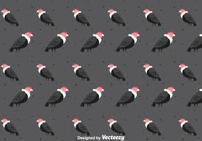 Condor Bird Seamless Pattern