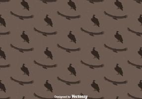 Condor Bird Seamless Pattern Background
