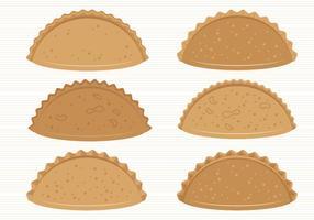 Colección de vectores de Empanadas