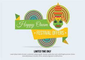 Onam Vector Background