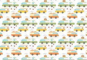 Freier Hippie Bus Vektor
