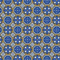 Talavera Vector Seamless Pattern