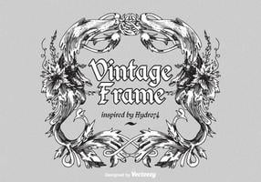 Vintage Ornate Vector Frame