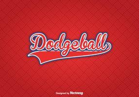 Textura libre del vector de Dodgeball